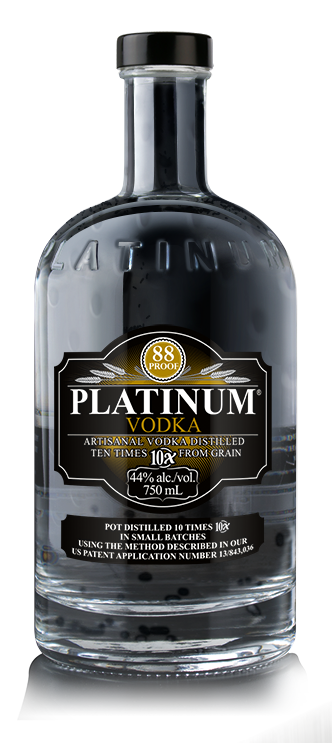 91 Points Exceptional Vodka - Platinum Vodka