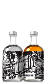 Blumer's Original Moonshine and Blumer's Apple Pie Moonshine