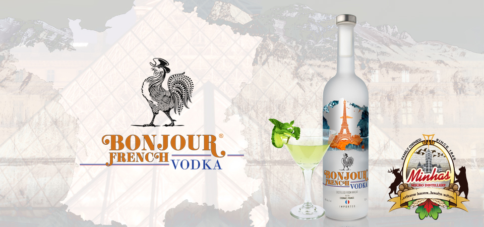 Bonjour French Vodka