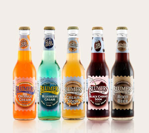 Blumers Cream Sodas and Root Beer